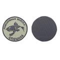 Шеврон KE Tactical Рыболовный спецназ круглый 7 см олива/черный - фото 12895