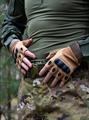 Перчатки КМФ78 тактические без пальцев койот - фото 13648