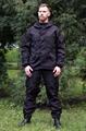 Костюм KE Tactical Горка рип-стоп на флисе черная - фото 14082