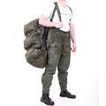 Баул-рюкзак KE Tactical Grand Tour 100л Polyamide 500 Den ЕМР со стропами олива - фото 7338