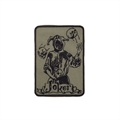 Шеврон KE Tactical Joker прямоугольник 8,5х12 см олива/черный - фото 9942
