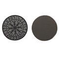 Шеврон Гальдрастав (Щит силы) круглый 8 см олива/черный - фото 9983